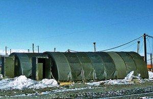 Jamesway huts